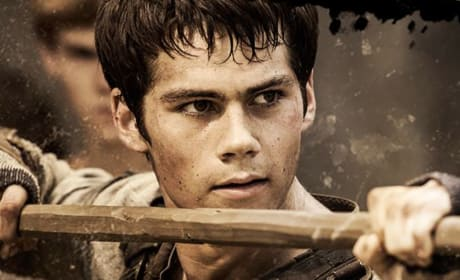 Dylan O'Brien The Maze Runner Still Photo