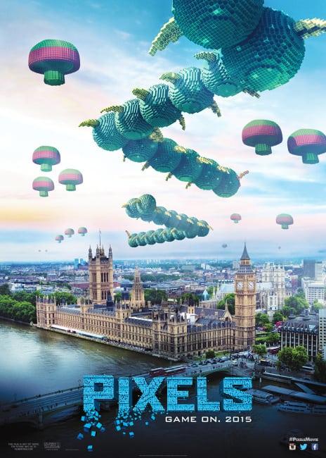 Pixels Centipede Poster