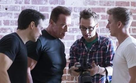 Arnold Schwarzenegger Terminator Genesis Set