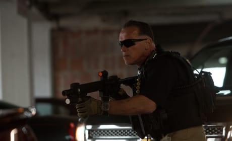 Arnold Schwarzenegger Sabotage Still