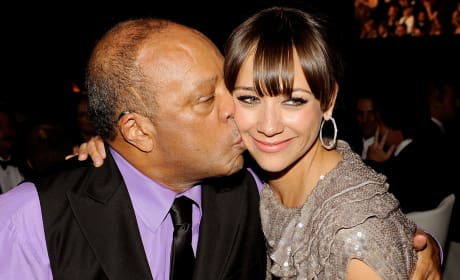 Quincy Jones Rashida Jones Photo