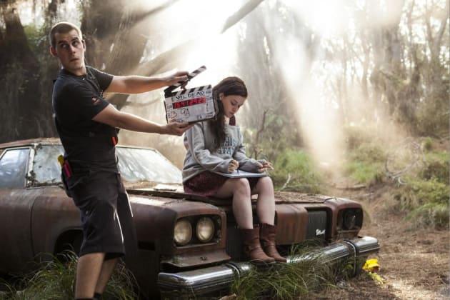 Jane Levy Evil Dead Set Photo