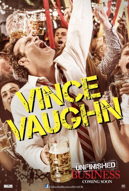 Unfinished business vince vaughn poster