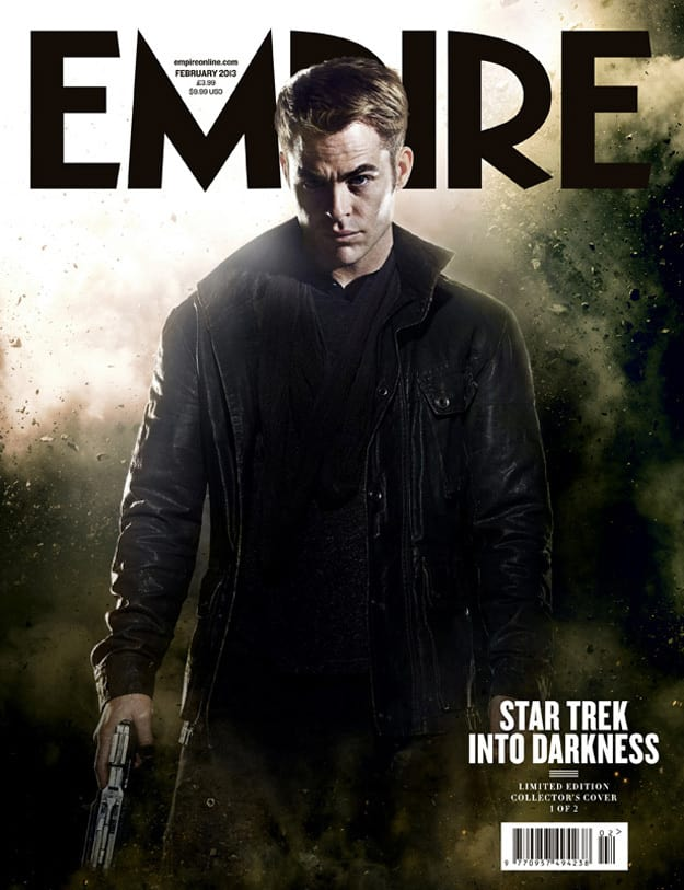 Chris Pine Star Trek Into Darkness Empire Cover