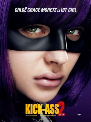 Kick-Ass 2 Chloe Moretz Poster