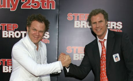 John C. Reilly and Will Ferrell are Step Brothers, Co-Stars