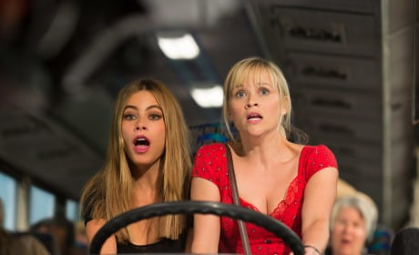 "Hot Pursuit: Sofia Vergara on Striking ""Fear"" in Reese Witherspoon!"