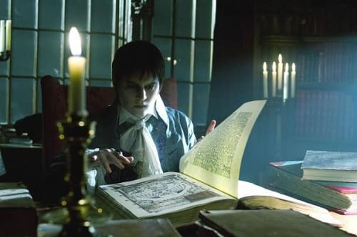 Johnny Depp is Barnabas Collins in Dark Shadows