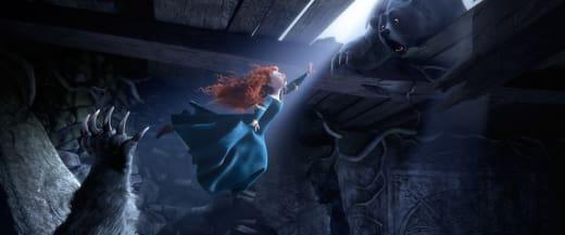 Brave: Merida falling