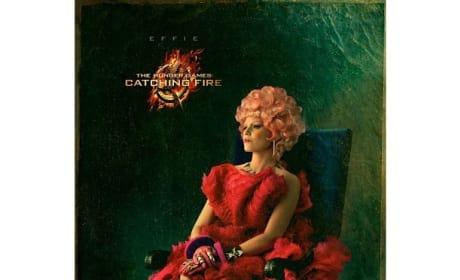 Catching Fire Portrait: Effie Trinket