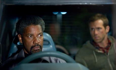 Denzel Washington and Ryan Reynolds in Safe House