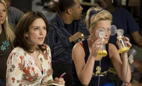 Tina Fey and Amy Poehler Dish on Baby Mama