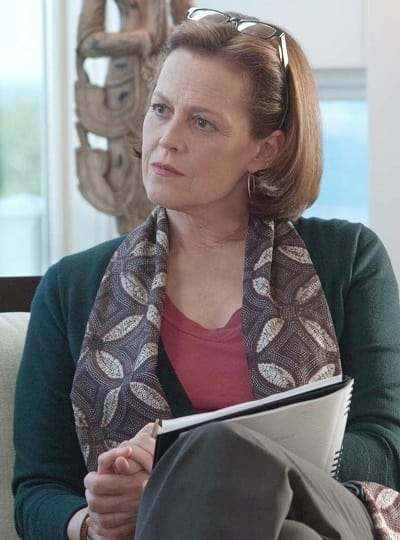 Sigourney Weaver Stars in Abduction