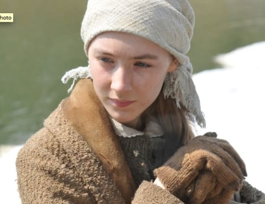 Saoirse Ronan Is A Polish Runaway