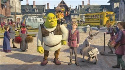 Shrek and Pals