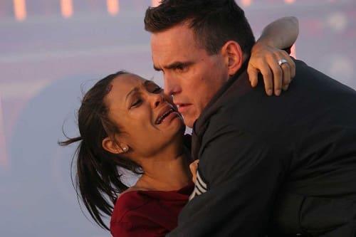 Thandie Newton and Matt Dillon in Crash