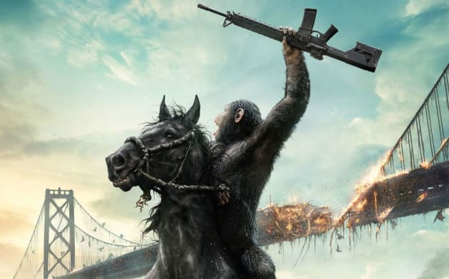 Dawn of the Planet of the Apes Poster Picture