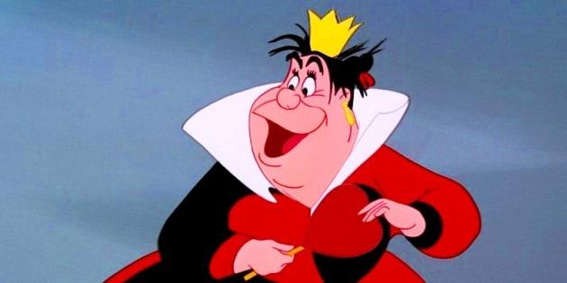 The Queen of Hearts Alice in Wonderland