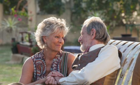 The Second Best Exotic Marigold Hotel Ronald Pickup Diana Hardcastle