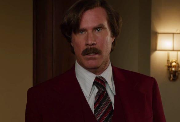Will Ferrell Anchorman 2 No Joke Cut