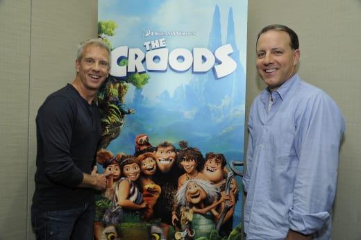The Croods Directors Kirk De Micco & Chris Sanders