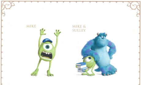 Monsters University Character Art: It's Like a Monsters Yearbook!