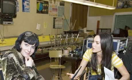Diablo Cody and Megan Fox