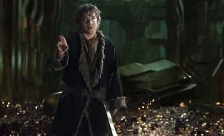 The Hobbit: The Desolation of Smaug Bilbo Smaug