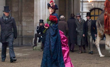 Irene Adler's Crazy Dress