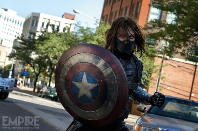 Captain America: Winter Soldier Sebastian Stan