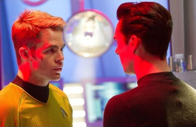 Star Trek Into Darkness Chris Pine Benedict Cumberbatch