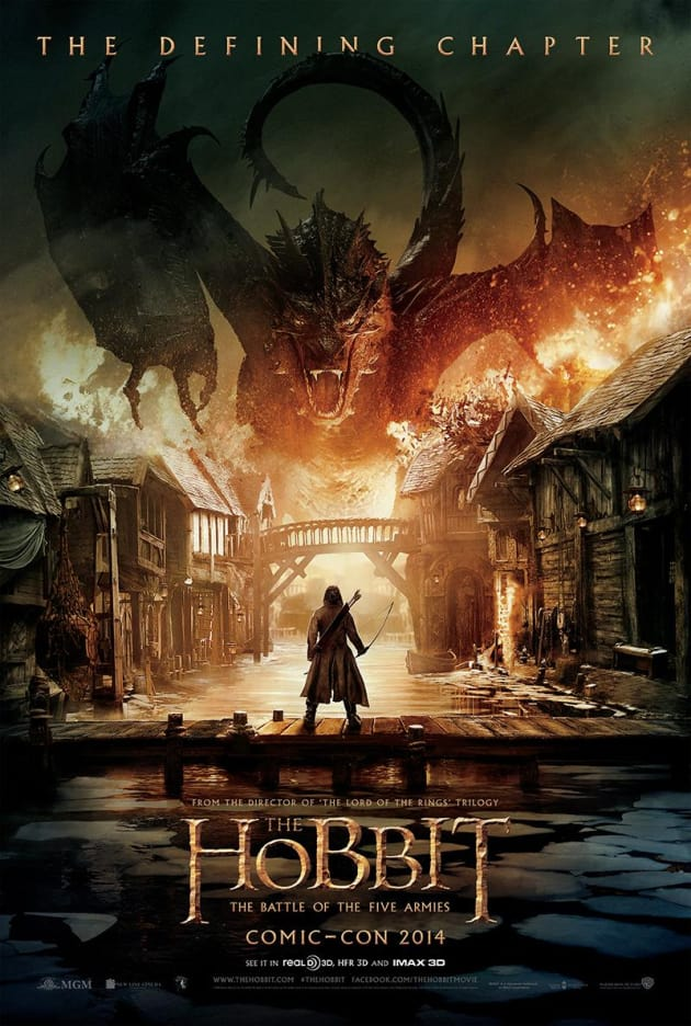 The Hobbit The Battle of the Five Armies Comic-Con Poster