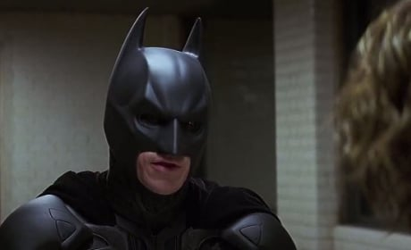 Christian Bale is Batman in The Dark Knight