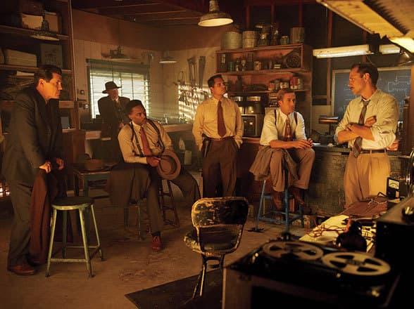 Josh Brolin Ryan Gosling Gangster Squad