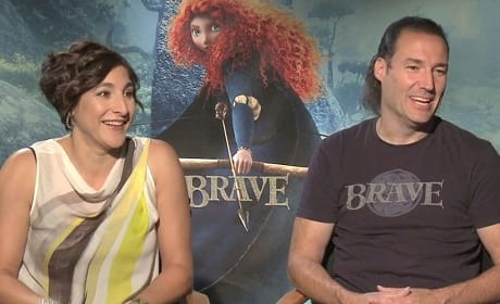 Katherine Sarafian and Mark Andrews Talk Brave