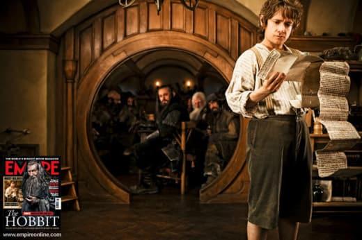 Martin Freeman is Bilbo Baggins in The Hobbit