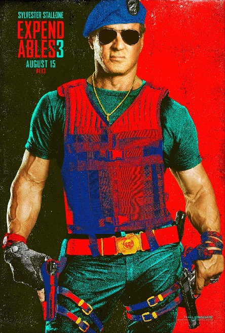 The Expendables 3 Sylvester Stallone Comic Con Poster