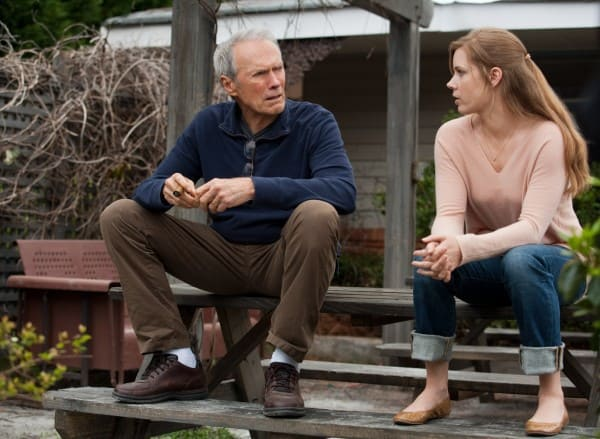 Clint Eastwood and Amy Adams Trouble with the Curve