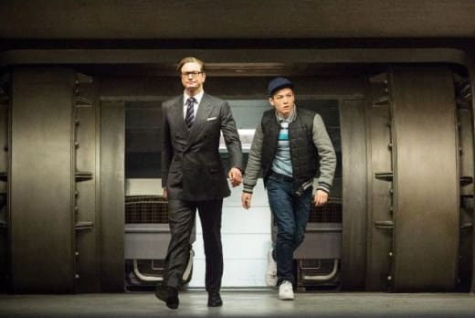 Taron Egerton Colin Firth Kingsman: The Secret Service