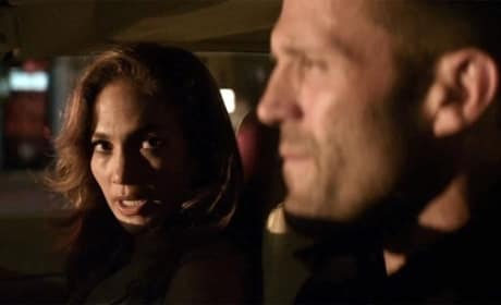 Jennifer Lopez and Jason Statham in Parker