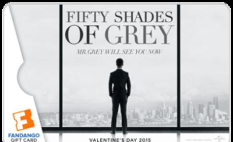Fifty Shades of Grey Fandango Gift Card Photo