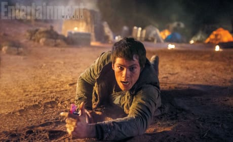 Maze Runner The Scorch Trials: Dylan O'Brien First Photos!