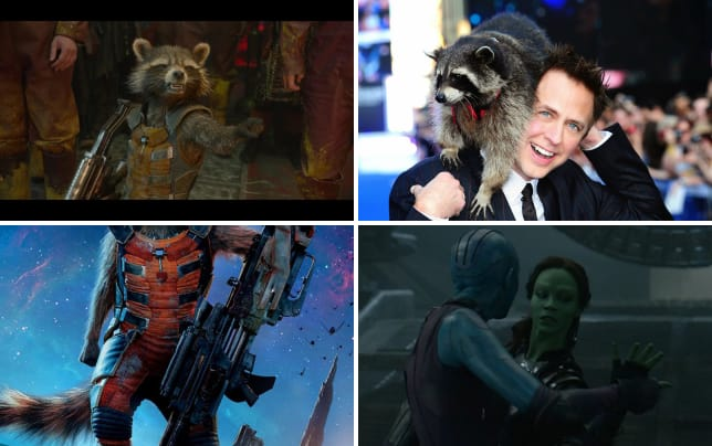 9 things we learned from guardians of the galaxy dvd bonus featu fake laugh scene is longer