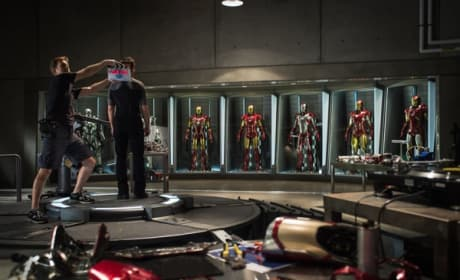 Iron Man 3 Begins Shooting: Check Out the First Set Photo!