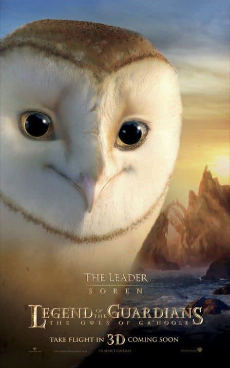 Legend of the Guardians Soren Poster