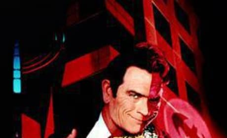Tommy Lee Jones is Two-Face