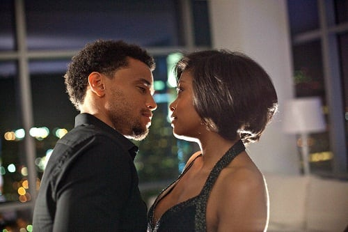 Taraji P. Henson and Michael Ealy in Think Like a Man