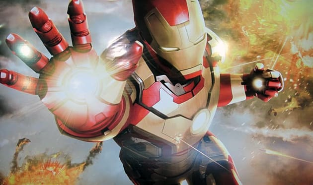 Iron Man 3 Artwork