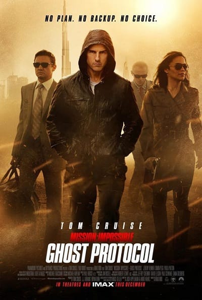 Mission Impossible: Ghost Protocol Group Poster