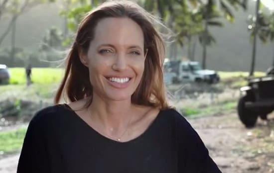 Angelina Jolie Unbroken Set Photo